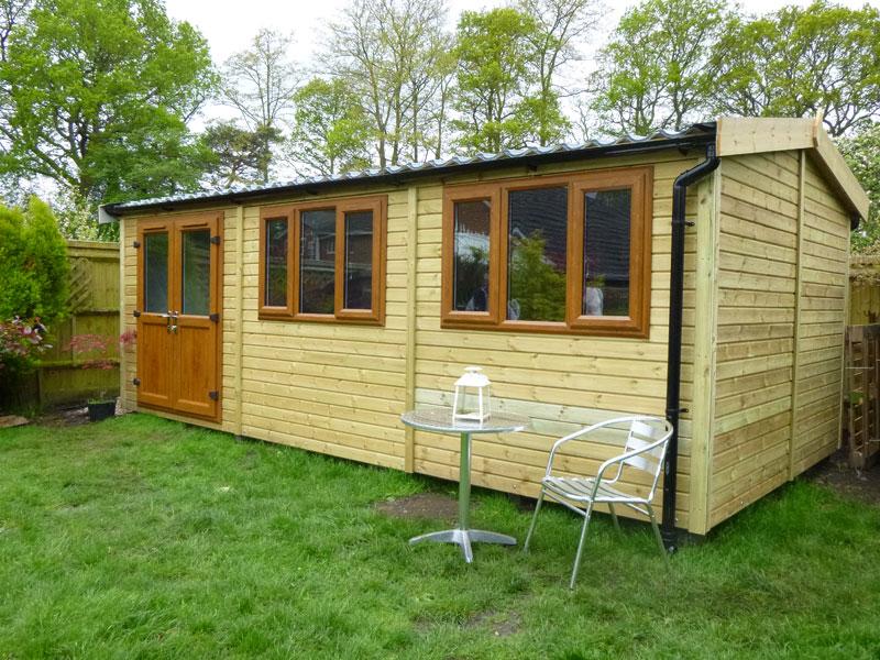 Pro Workshop - Photo Gallery - Heavy Duty Garden Workshops
