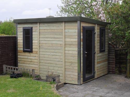 Pro Workshop Pent Garden Room Heavy Duty Garden Workshops