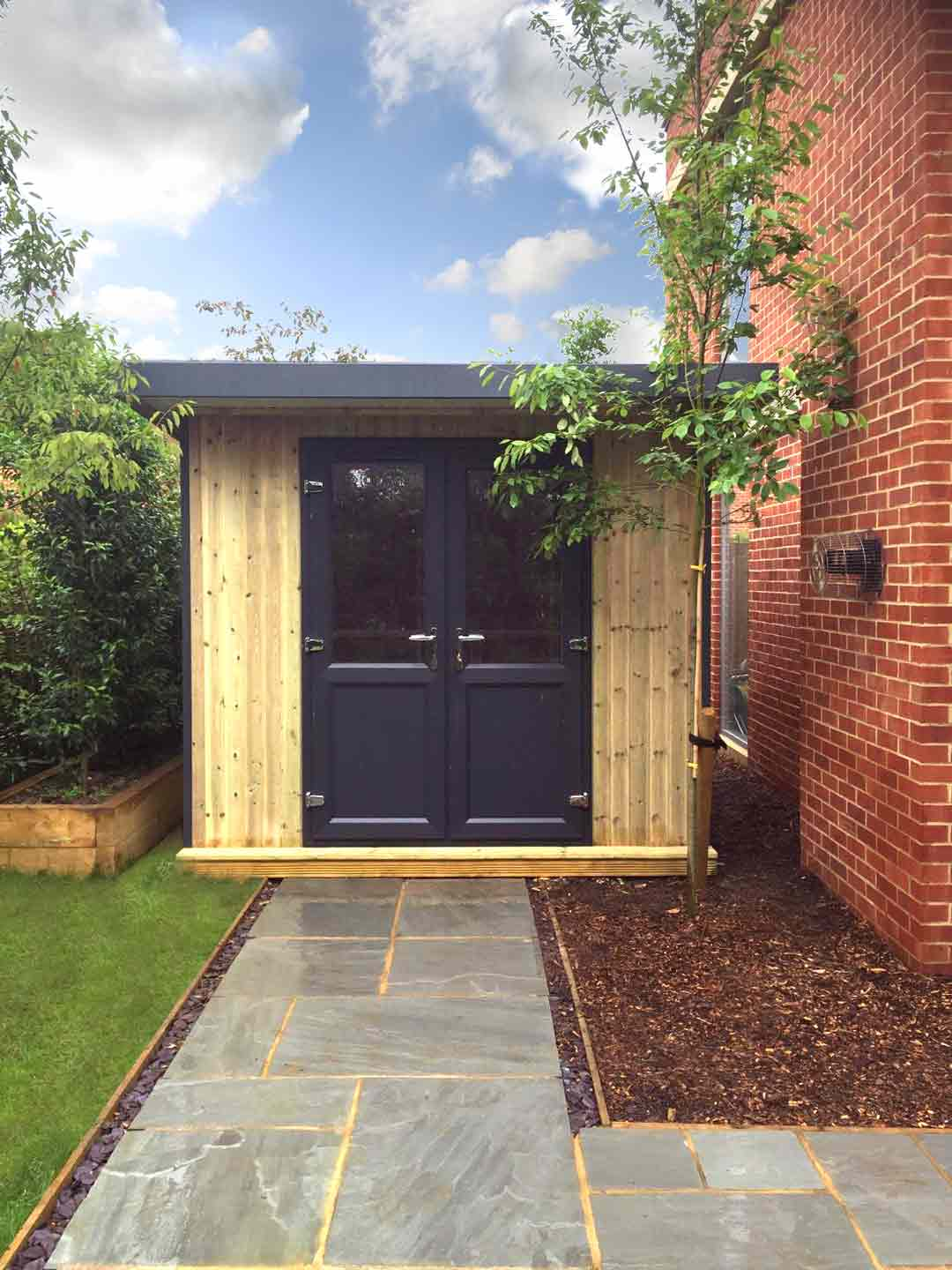 Pro Workshop Pent Garden Room Heavy Duty Garden Workshops